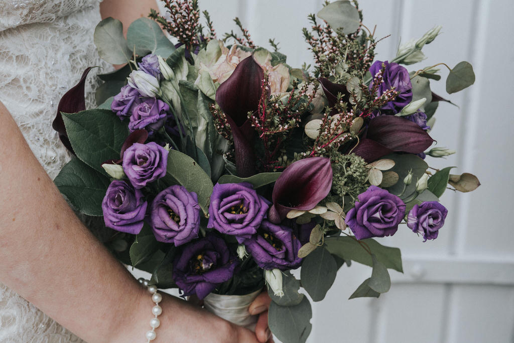 Esme Beauty Bar Wedding Bouquet