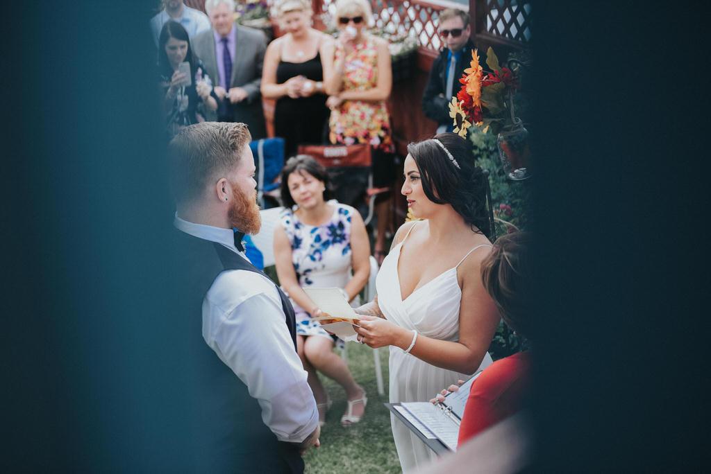 Calgary Wedding Photography Ceremony