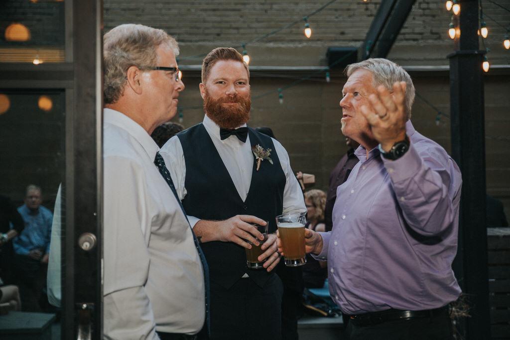 Calgary Wedding Photographer Wedding guests