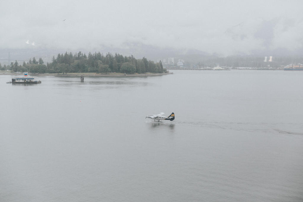 Seaplane Vancouver waterfront