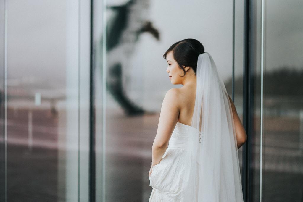 Vancouver Wedding Photography Bride Portrait