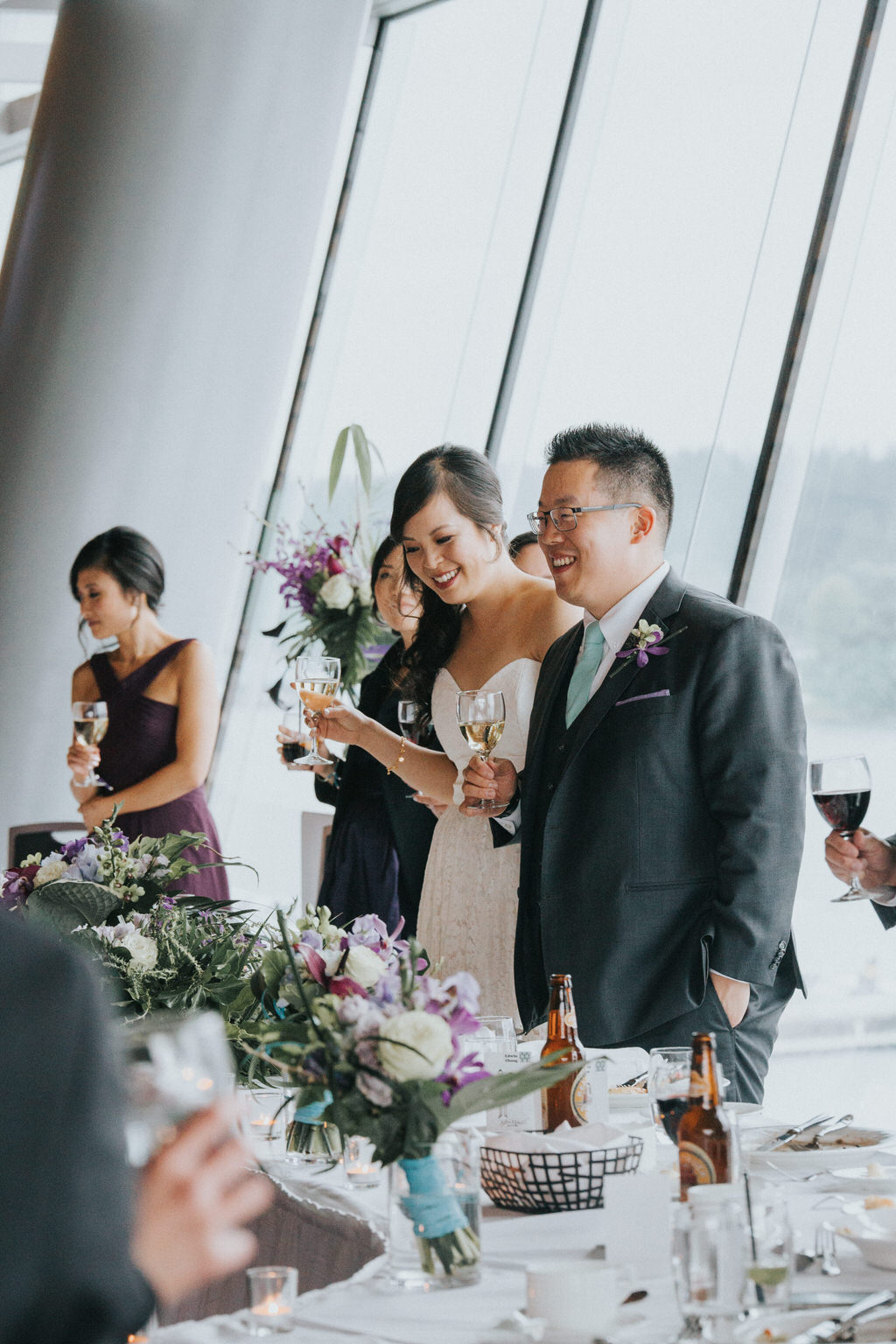 Vancouver Convention Centre Wedding Reception