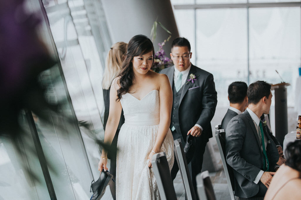 Vancouver Convention Centre Wedding Reception