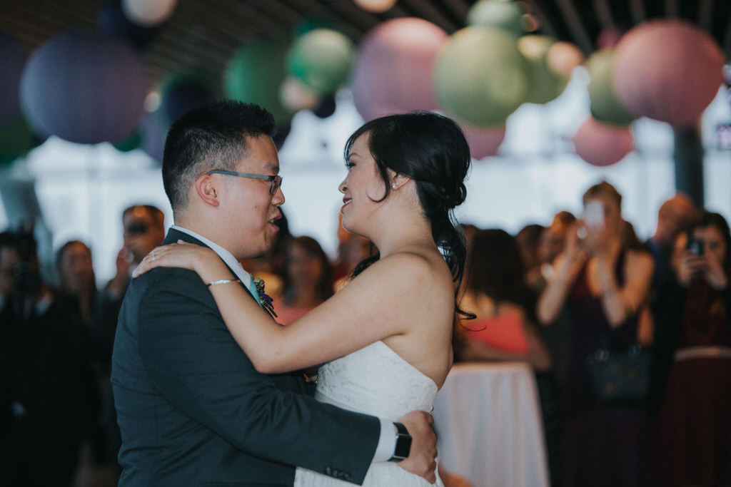 Vancouver Wedding Photography Bride and Groom First Dance