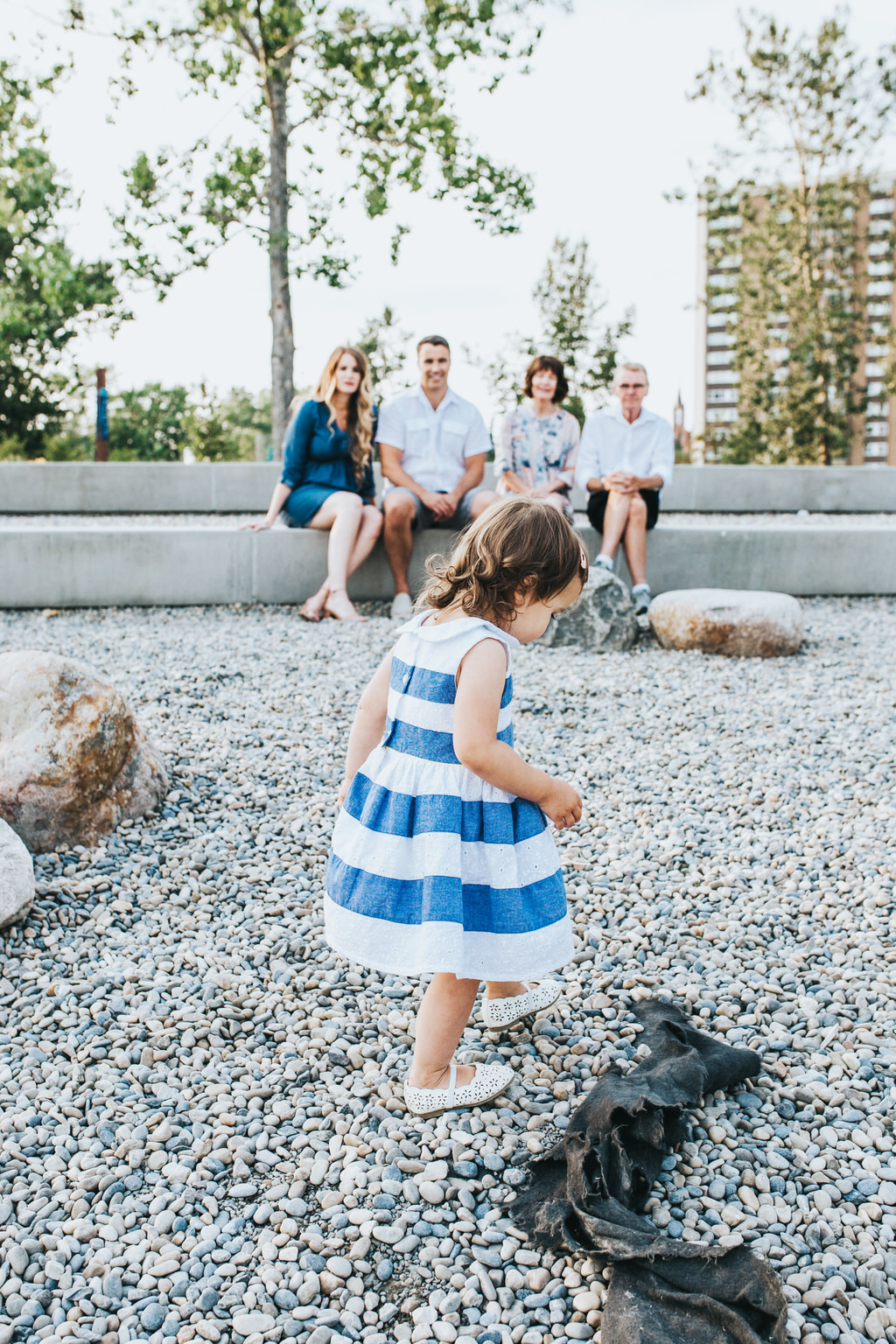 East Village Calgary Family Photography Session