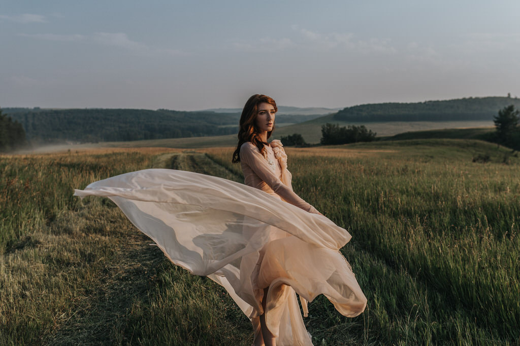 Calgary Wedding Photographer Bridal Portrait Editorial