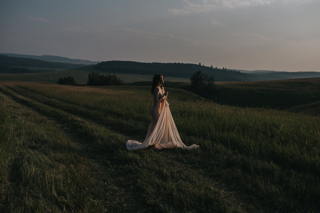 Calgary Wedding Photographer Sue Moodie Photography Bridal Portrait Editorial