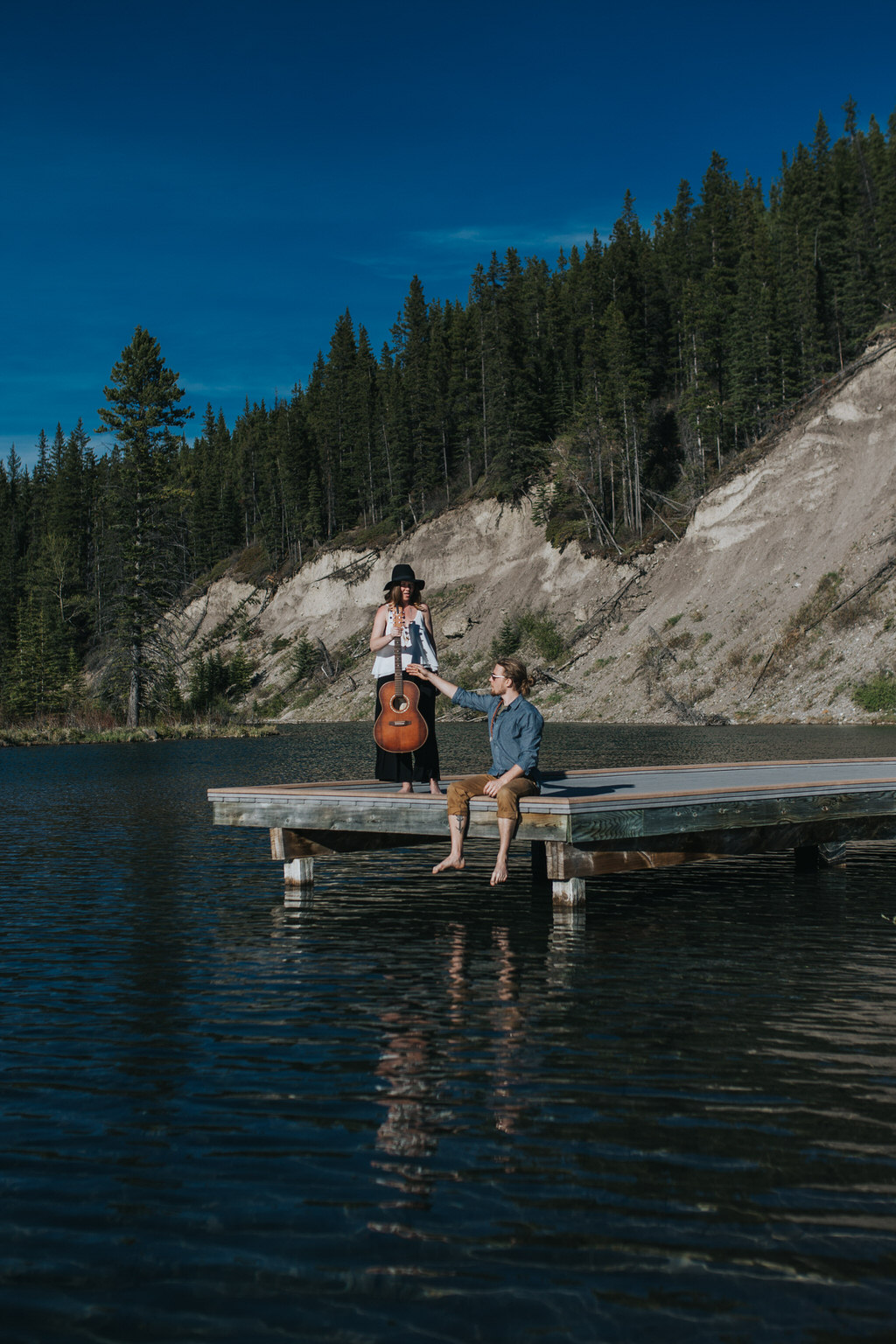 Canmore Mountain Engagement Session