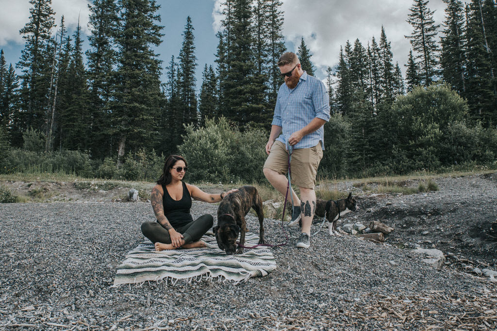 Rocky Mountain Engagement Session Sue Moodie Photography