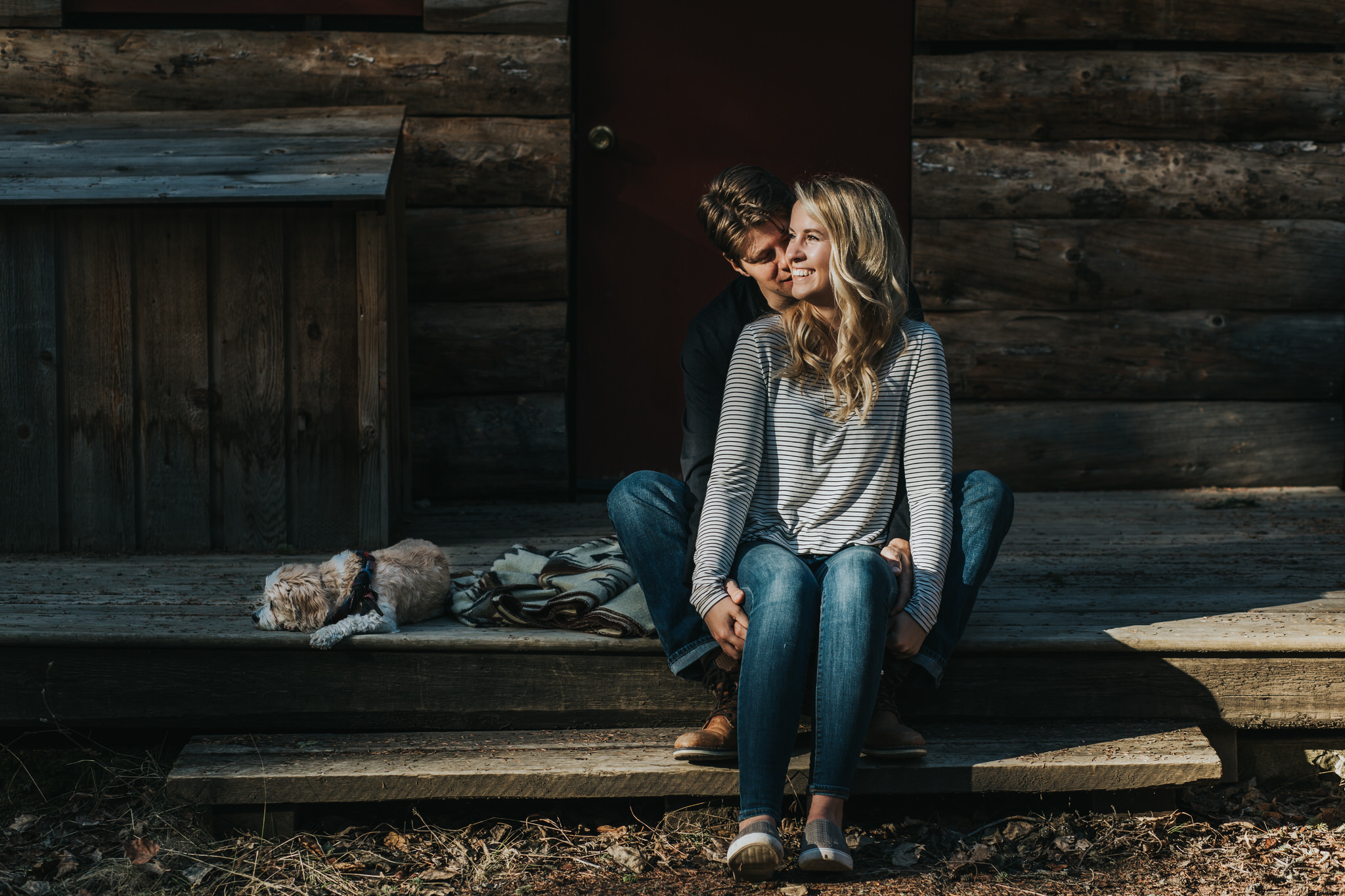 Calgary Engagement Session Sue Moodie Photography Woodland West