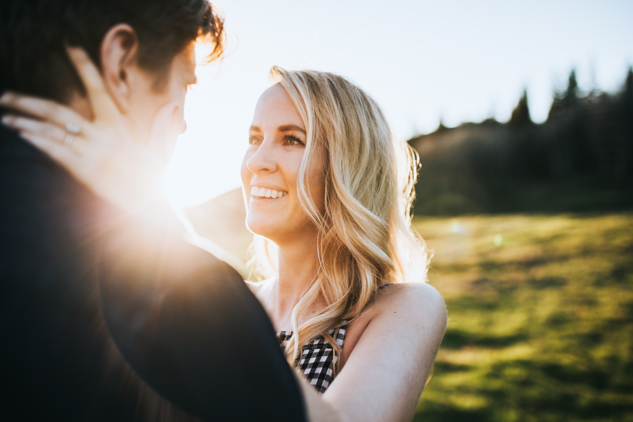 Alberta Engagement Session Sue Moodie Photography Woodland West Sunset