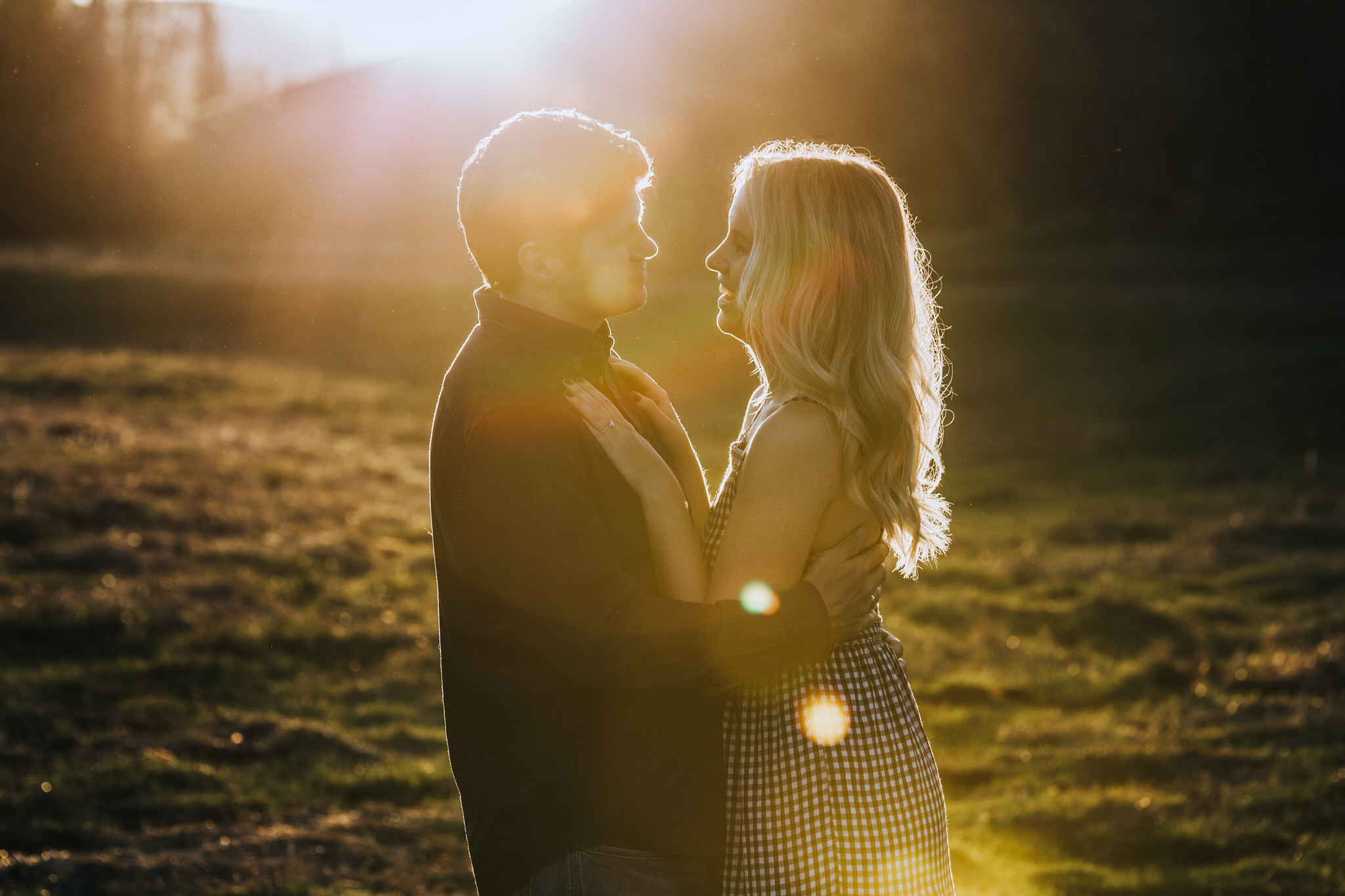 Alberta Engagement Session Sue Moodie Photography Woodland West