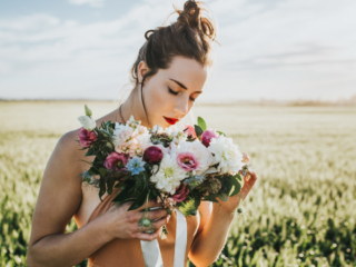 Calgary Portrait Session Black Earth Floral Wedding Bouquet Sue Moodie Photography