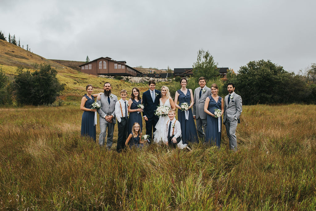 Cochrane Ranchehouse Fall Wedding
