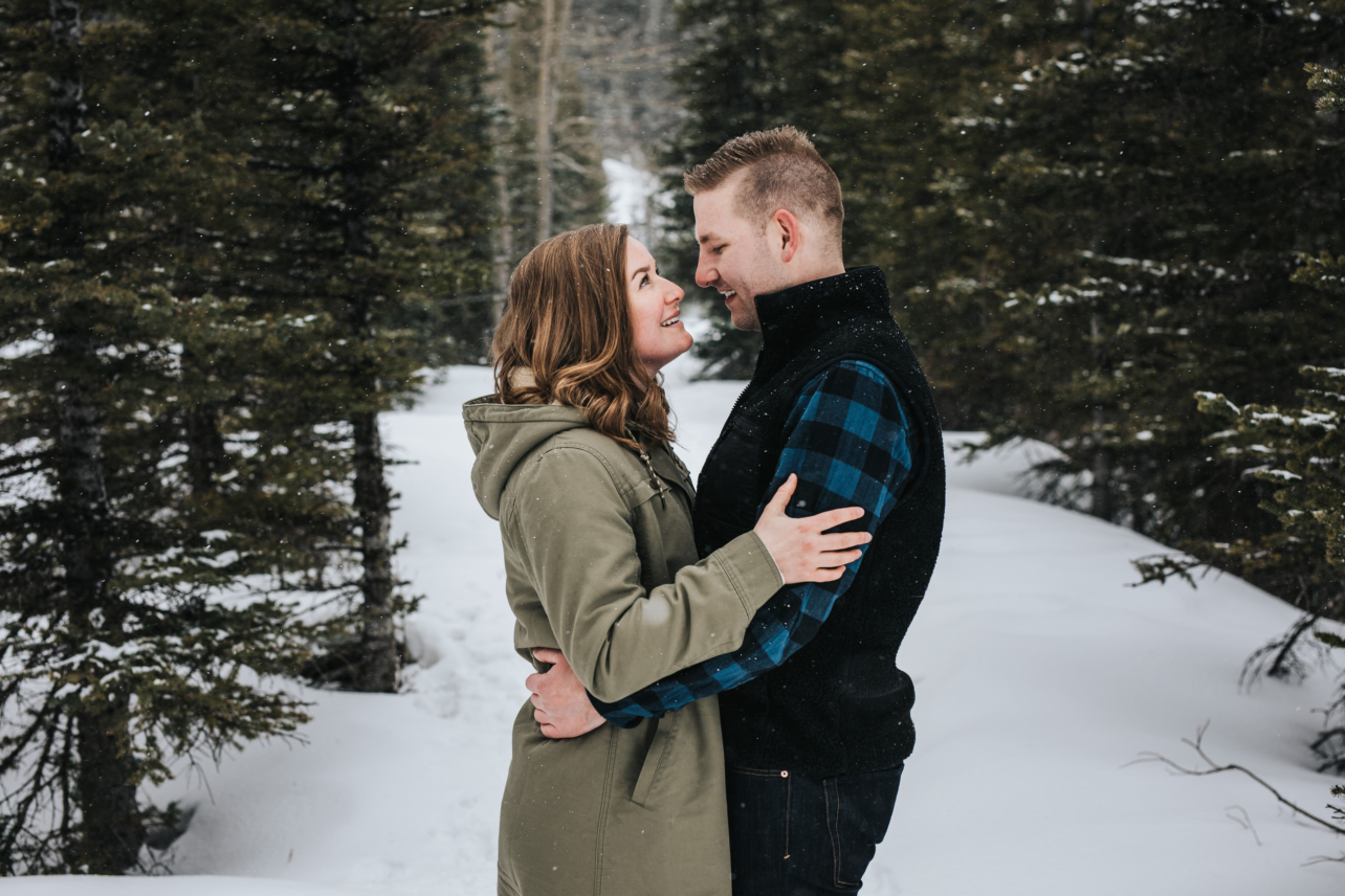Kananaskis Winter Engagement Session