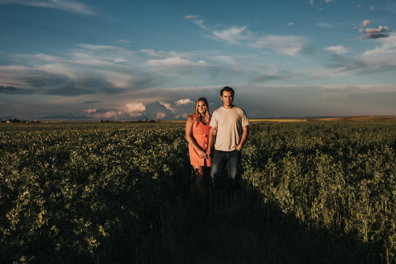 Alberta Farm Engagement Session