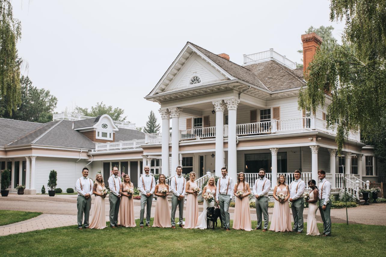 The Norland Historic Estate Summer Wedding
